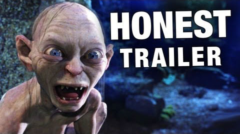honest trailers lord of the rings gollum
