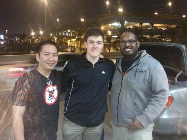 John, co-founder Narvin and myself