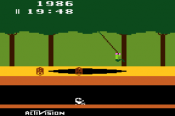 screenshot of pitfall for the atari