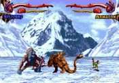 screenshot of atari's primal rage