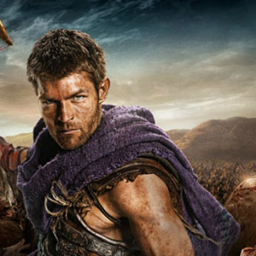 New Spartacus: War of the Damned videos featuring Julius Caesar and Crassus