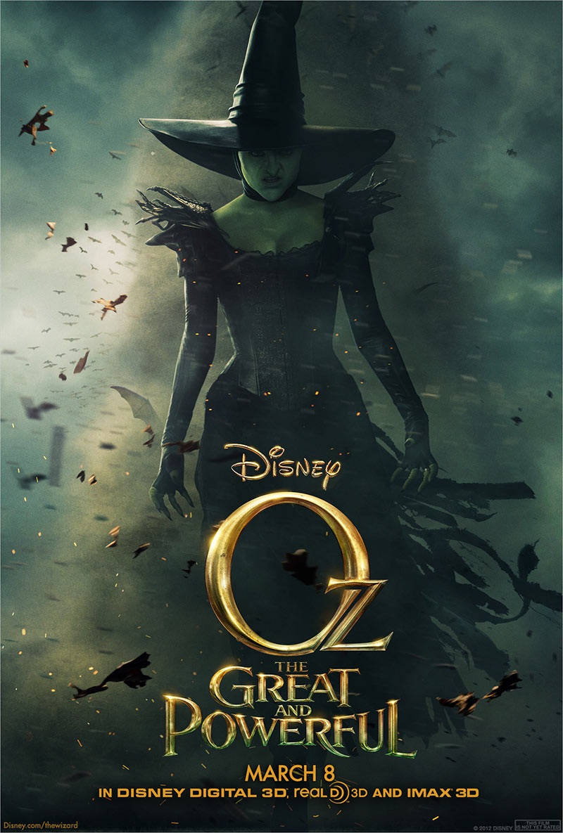Get your first look at the Wicked Witch from Oz the Great and Powerful ...