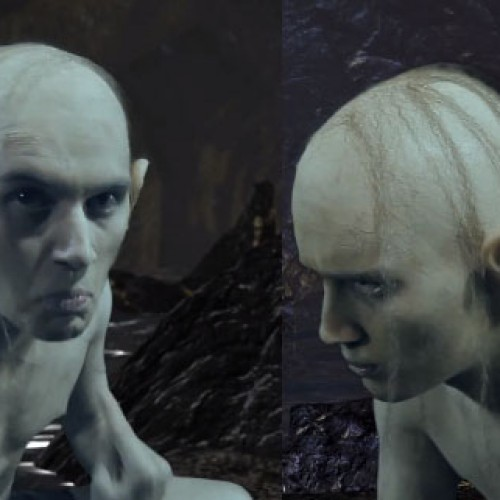 Gollum and Smeagol finally settle their rivalry in this epic rap battle