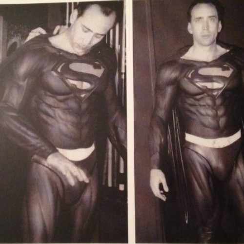 New image of Nicolas Cage as Superman – Can't be unseen