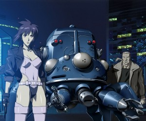 Ghost in the shell major Motoko batou  tachikoma