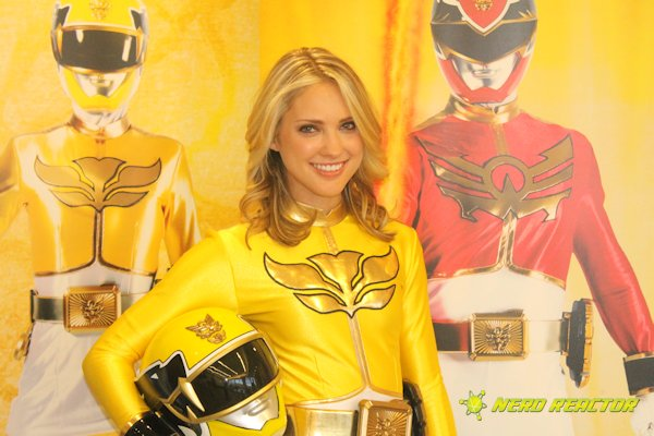 yellow power ranger megaforce - photo #22