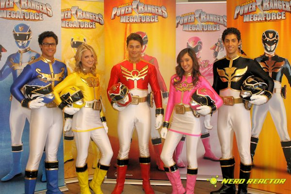Go, Go Power Rangers! We chat with the new team of Power
