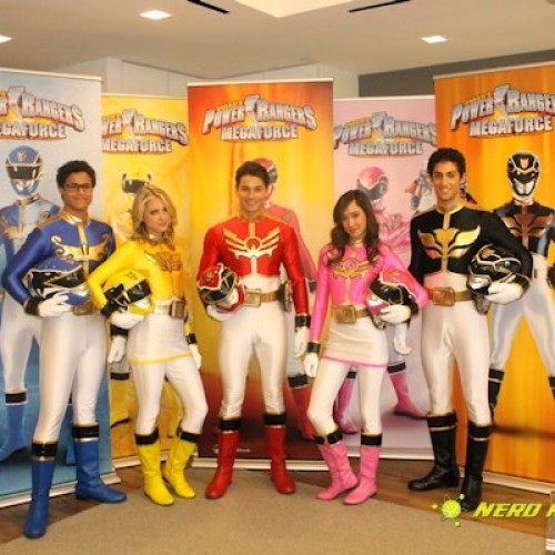 Go, Go Power Rangers! We chat with the new team of Power Rangers Megaforce