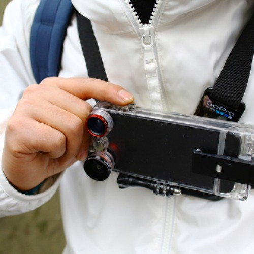 The VicamPlus – Turn an iPhone 5 into a GoPro rig