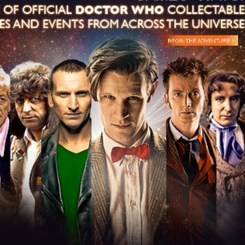 BBC launches 50th anniversary Doctor Who website