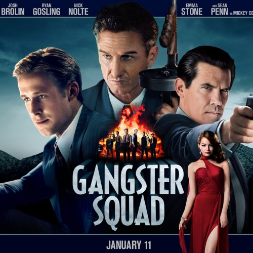 Gangster Squad Podcast Review
