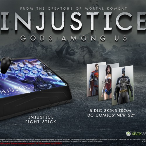 'Injustice: Gods Among Us' gets a fight stick for the Battle Edition in North America