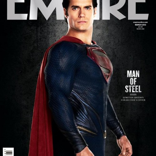 Another look at Henry Cavill as Superman and Michael Shannon as General Zod