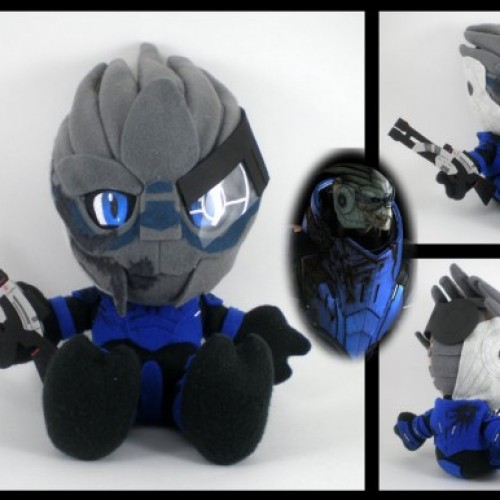 Mass Effect gets all cute with these plushies