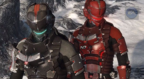 mass effect dead space 3 n7 suit