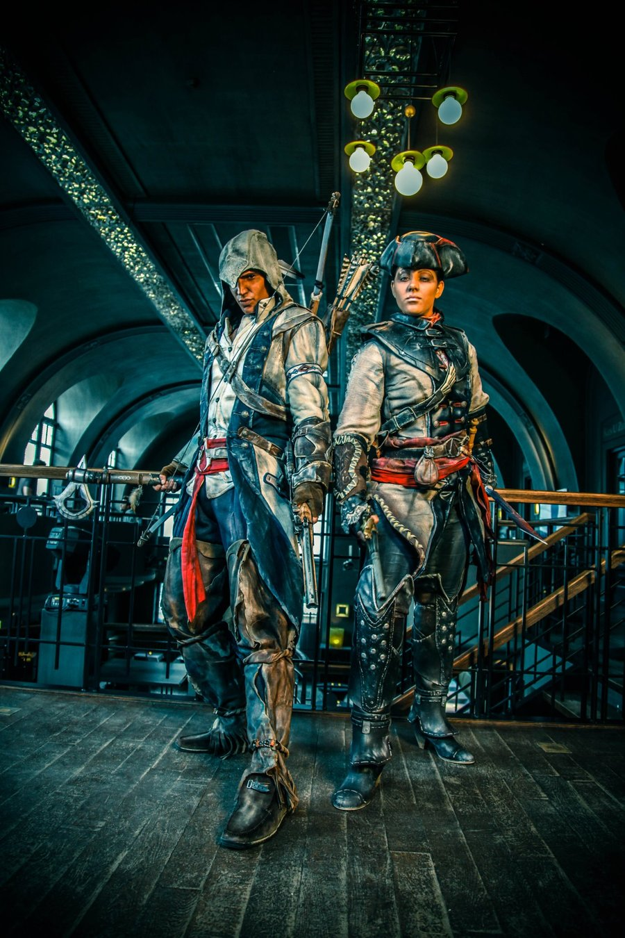 Assassin S Creed Iii S Connor And Aveline Cosplays Look Legit