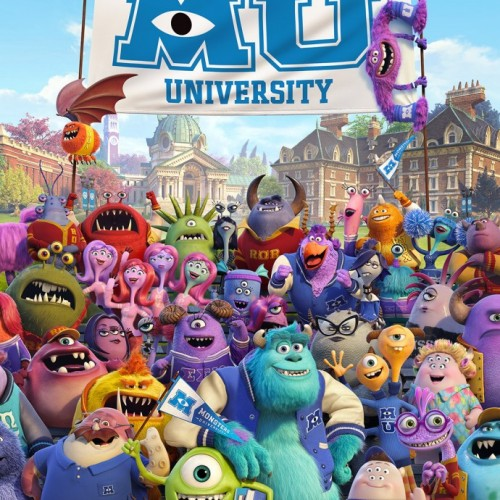 Monsters University gets a class photo in this new poster
