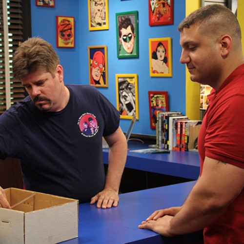 NR Contest: T-shirts signed by Kevin Smith winners and Comic Book Men pics