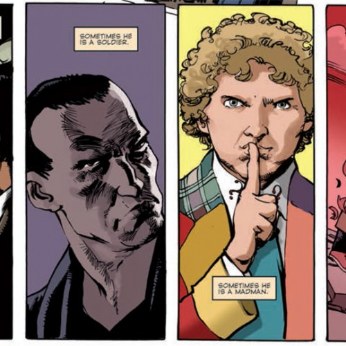 Doctor Who: Prisoner of Time comic is out!