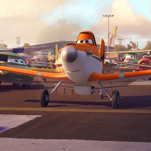 Dane Cook voices Dusty in Disney's Planes
