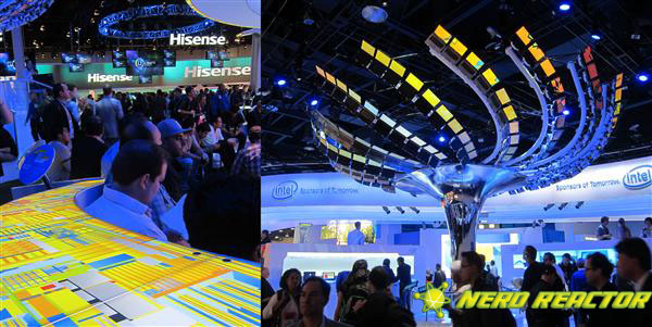 The hypnotizing effect to look forward to at the Intel booth.