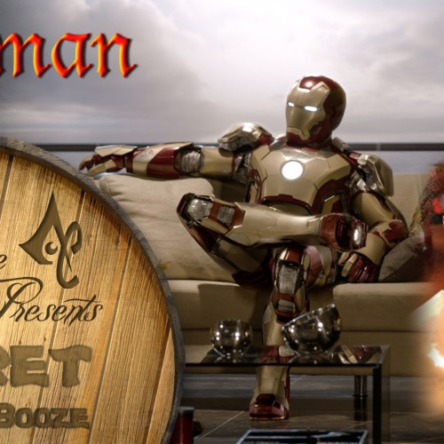 Now you can create your own Iron Man drink