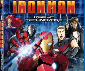 Ironman Rise of Technovor Blu-ray Box Art