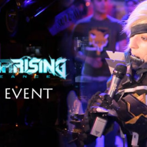 Metal Gear Rising: Revengeance launch party at Universal CityWalk