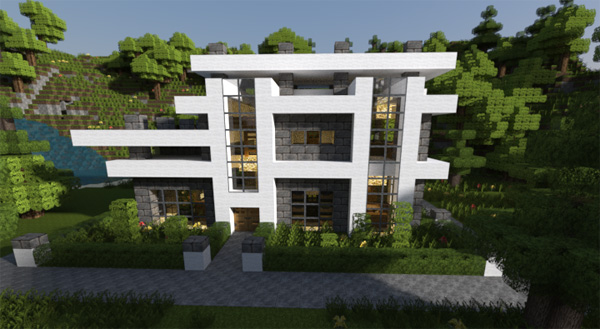 20 Modern Minecraft Houses - Nerd Reactor