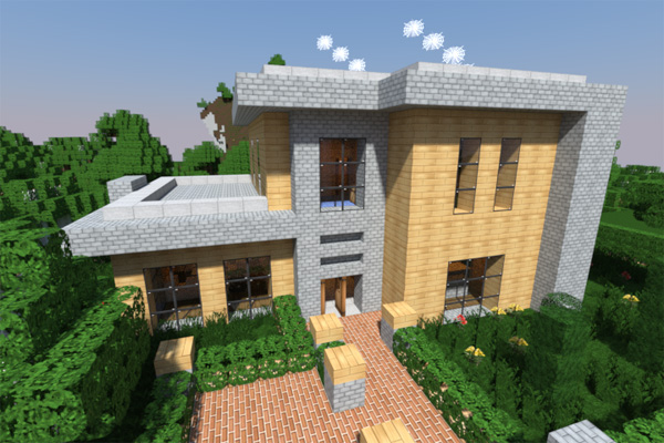 minecraft modernhouse15 - Minecraft Home Designs