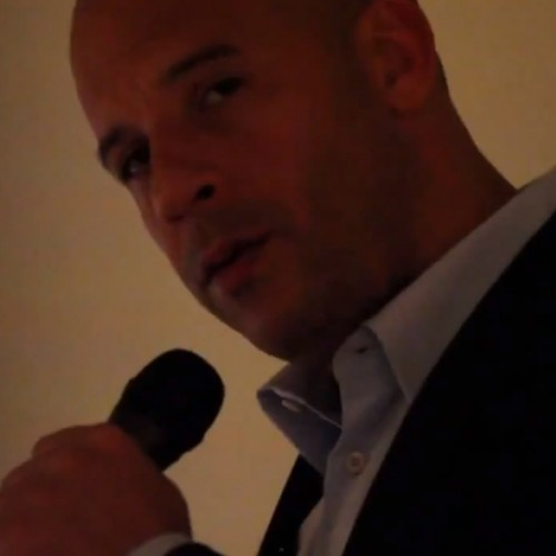 Vin Diesel's Valentine gift: Singing 'Stay' by Rihanna