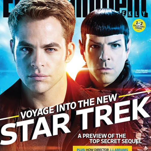 Star Trek Into Darkness on Entertainment Weekly this week!