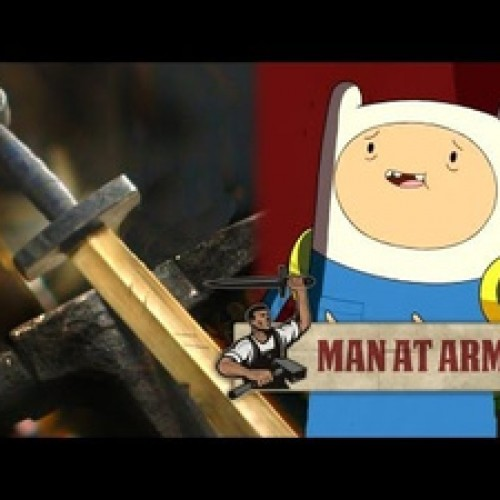 Watch as the Adventure Time sword 'Scarlet' is brought to life