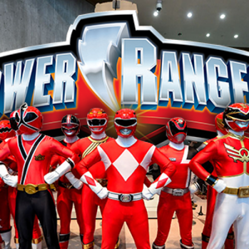 Power Rangers celebrates its 20th anniversary by taking over New York