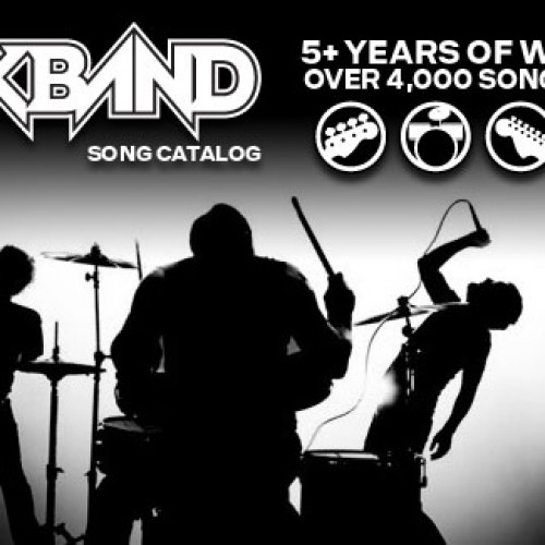 Weekly Rock Band DLC coming to an end in April