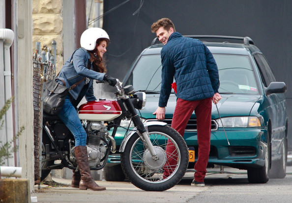shailene woodley andrew garfield spider-man 2