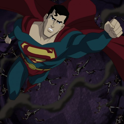First clip from Superman: Unbound – Superman meets Brainiac