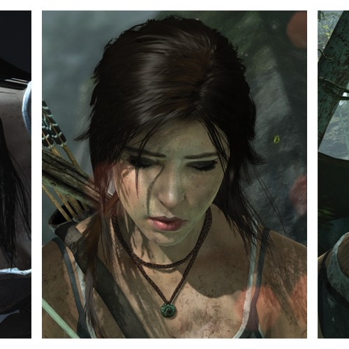 It's not Maybelline – It's TressFX with Lara Croft's hair