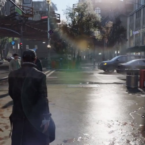Is this how Watch Dogs will look like on current gen consoles?