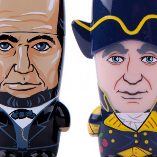 Mimobot USB Sticks: Lincoln & Washington