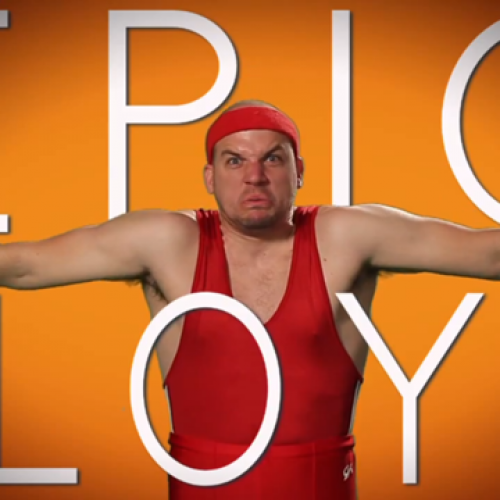 Epic Lloyd has a new series, Epic Studios, on YouTube
