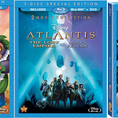 Disney to release Lilo & Stitch, Atlantis, and Emperor's New Groove on Blu-ray
