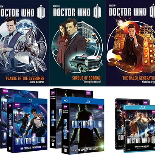 Contest: We're giving away Doctor Who books and Blu-rays