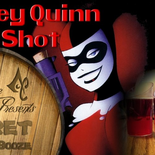 Learn to make the Harley Quinn Jello Shot