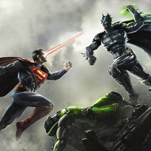 Batman and Superman will face off in the Injustice Battle Arena finals