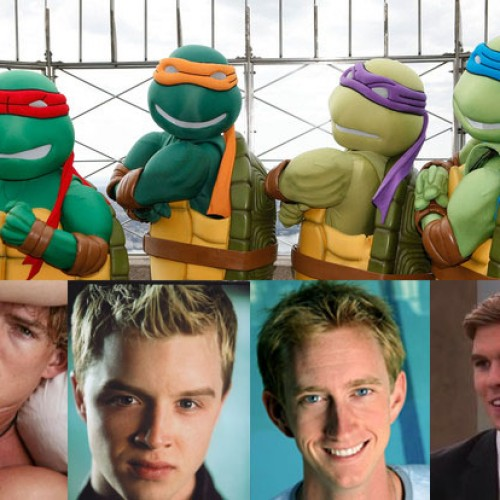 Raphael, Michelangelo and Donatello cast in Michael Bay's Teenage Mutant Ninja Turtles