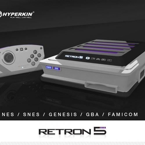 RetroN 5 will play your NES, SNES, Genesis, GBA and Famicon cartridges