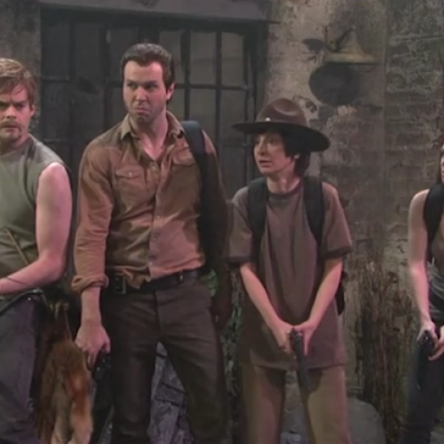 The Walking Dead done SNL style