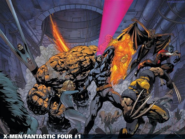 X-Men and Fantastic Four