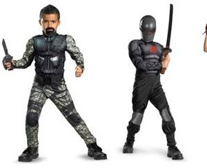 gi joe kids costume
